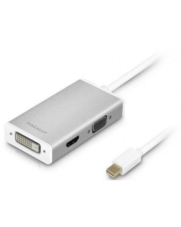 Adaptador Mini DisplayPort a DVI/HDMI/VGA 4K