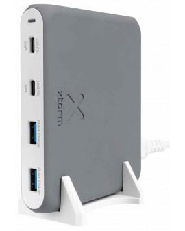 XPD20: Estación de carga AC. 1xUSB-C PD 60W + 1XUSB-C PD 30W + 2 x USB-A 3.0.