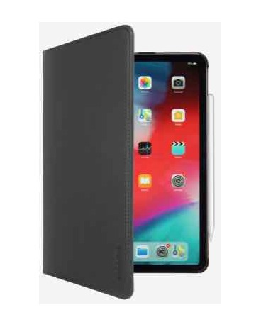"EASY-CLICK COVER: Funda-libro con soporte para iPad Pro 12,9"" (2020). Turn On/Off."