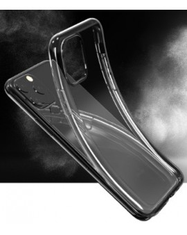 DEVKNSE20: NAKED. Funda de TPU flexible para iPhone SE 2020, transparente.