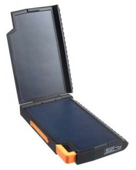 XR105: Xtreme Series, Batería solar antichoque de 10.000mAh. Micro-USB In. 4,5W panel solar SunPower®.