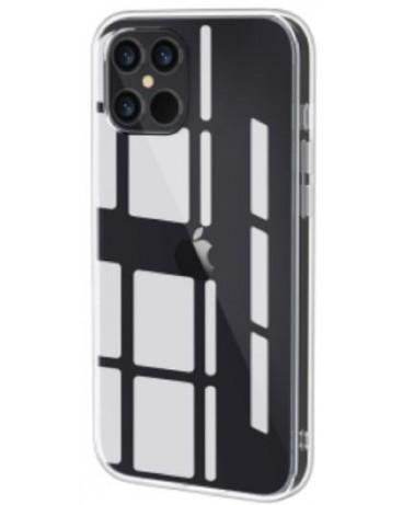"""SHARK: Funda rígida de TPU/PC con test de caída de 1,2M para iPhone de 5,4"""" (iPhone 13 Mini)."""